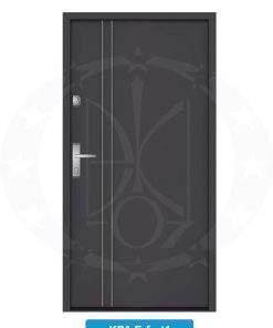 Двері вхідні металеві GERDA NTT75 QUADRO KPA Erfurt 1