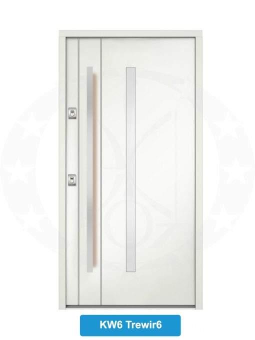 Двері вхідні металеві GERDA NTT75 QUADRO KW6 Trewir 6