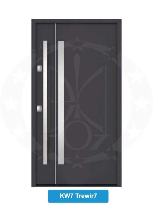Двері вхідні металеві GERDA NTT75 QUADRO KW7 Trewir 7