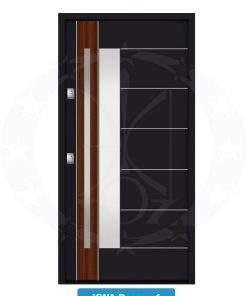 Двері вхідні металеві GERDA NTT75 QUADRO KWA Pasawa 1