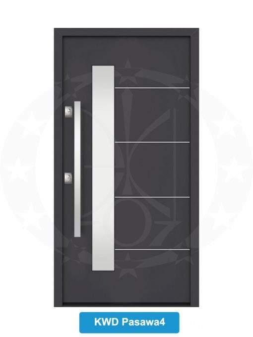 Двері вхідні металеві GERDA NTT75 QUADRO KWD Pasawa 4