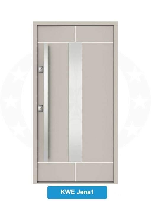 Двері вхідні металеві GERDA NTT75 QUADRO KWE Jena 1