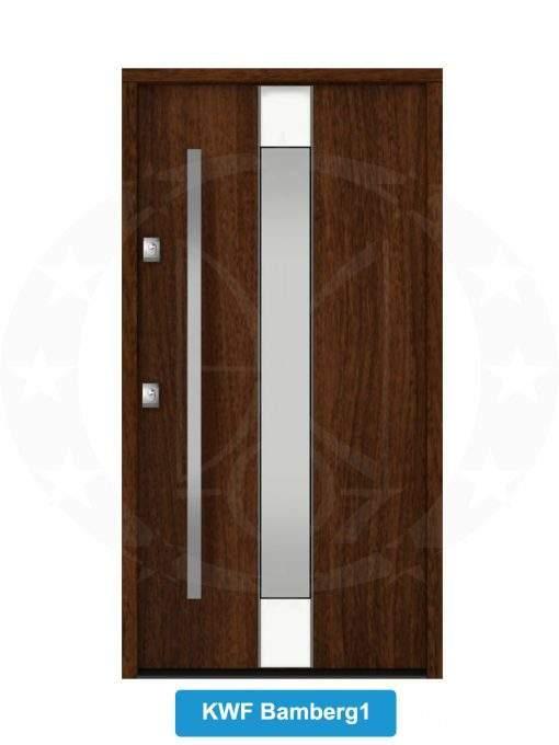 Двері вхідні металеві GERDA NTT75 QUADRO KWF Bamberg 1