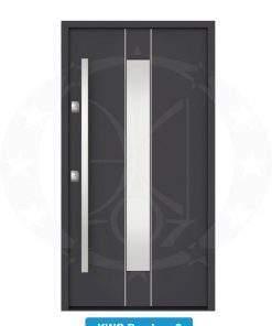 Двері вхідні металеві GERDA NTT75 QUADRO KWG Bamberg 2