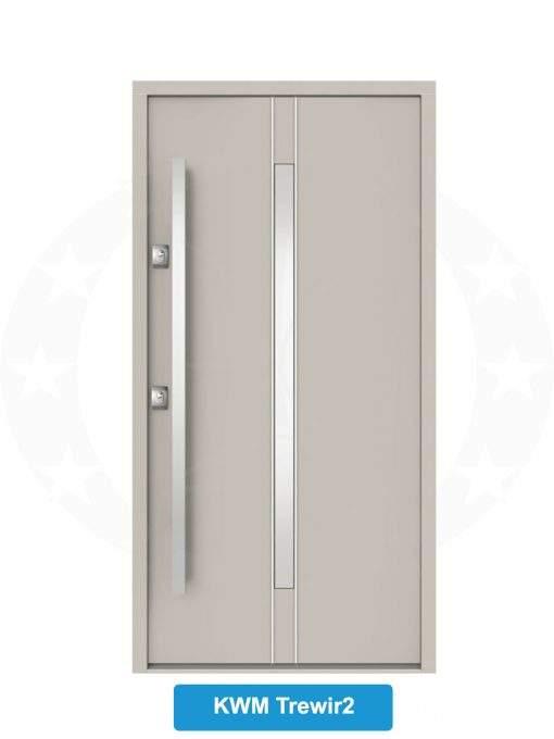 Двері вхідні металеві GERDA NTT75 QUADRO KWM Trewir 2