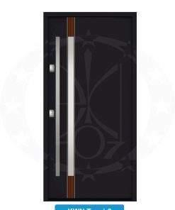 Двері вхідні металеві GERDA NTT75 QUADRO KWN Trewir 3