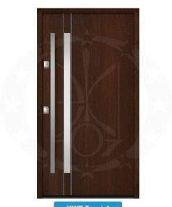 Двері вхідні металеві GERDA NTT75 QUADRO KWP Trewir 4