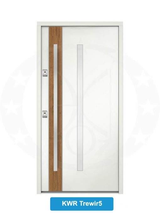 Двері вхідні металеві GERDA NTT75 QUADRO KWR Trewir 5