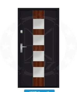 Двері вхідні металеві GERDA NTT75 QUADRO KWT Kassel 1
