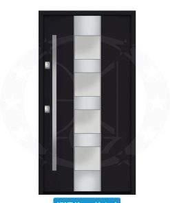 Двері вхідні металеві GERDA NTT75 QUADRO KWT Kassel 1 steel
