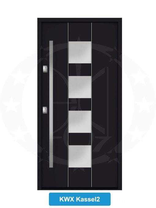 Двері вхідні металеві GERDA NTT75 QUADRO KWX Kassel 2