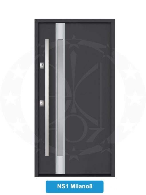 Двері металеві GERDA NTT60 STANDARD NS 1 Milano 8