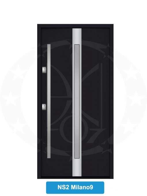 Двері вхідні металеві GERDA NTT75 STANDARD NS 2 Milano 9