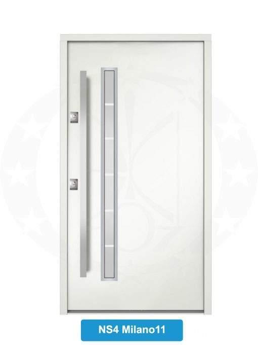 Двері вхідні металеві GERDA NTT75 STANDARD NS4 Milano 11