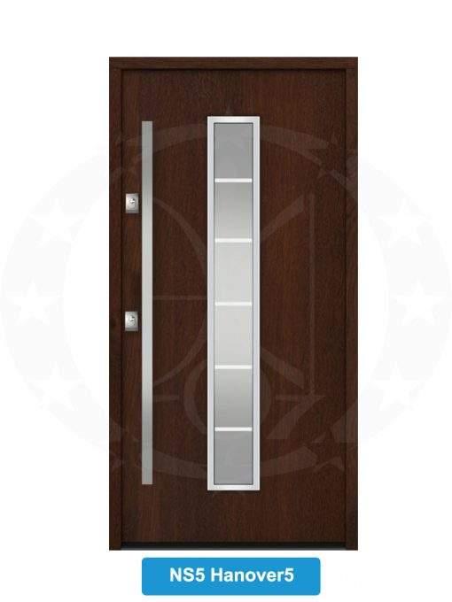 Двері вхідні металеві GERDA NTT75 STANDARD NS5 Hanover 5