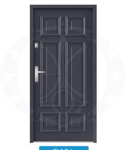 Двері вхідні металеві GERDA NTT75 ELITE 3D Ela Brig