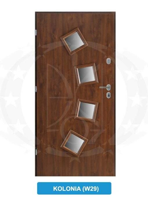 Двері вхідні GERDA - TT MAX Kolonia