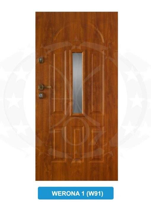 Двері вхідні Gerda TT Werona 1