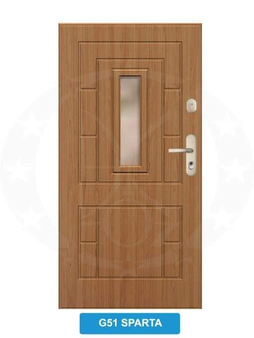 Двері вхідні металеві GERDA GSX G51 Sparta