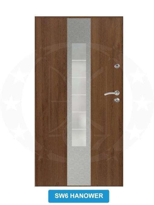 Двері вхідні металеві GERDA GSX SW6 Hanower
