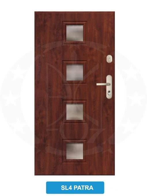 Двері вхідні металеві GERDA GWX SL4 Patra