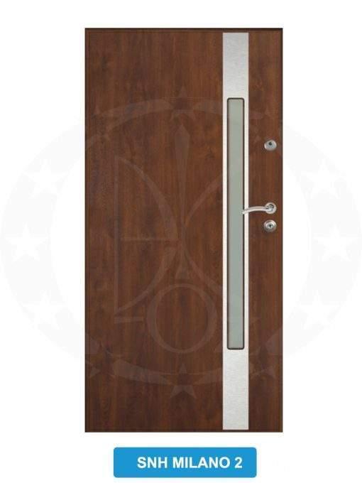 Двері вхідні металеві GERDA GWX SNH Milano 2