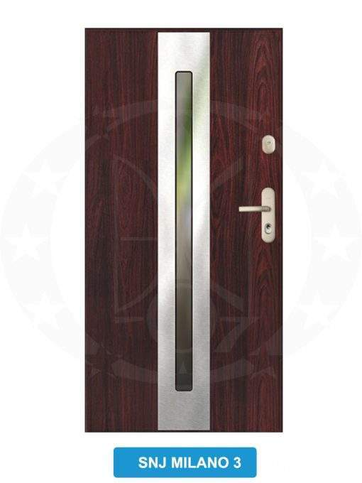 Двері вхідні металеві GERDA GWX SNJ Milano 3