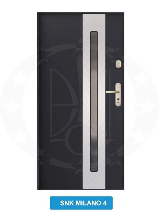 Двері вхідні металеві GERDA GWX SNK Milano 4