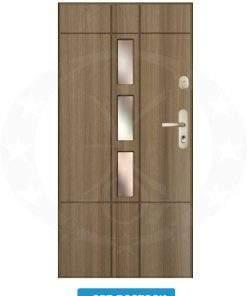 Двері вхідні металеві GERDA GWX SPR ROSTOCK