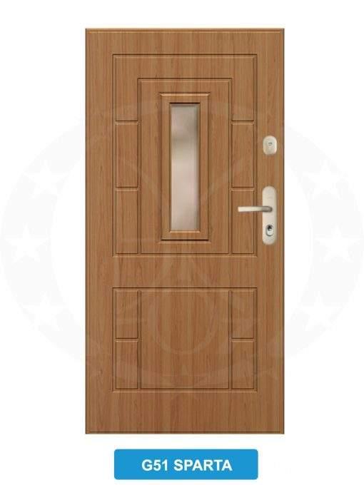 Двері вхідні металеві GERDA GWX G51 Sparta