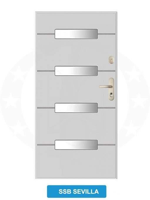 Двері вхідні металеві GERDA GWX SSB Sevilla