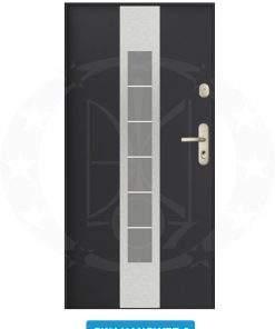 Двері вхідні металеві GERDA GWX SW4 Hanower 2
