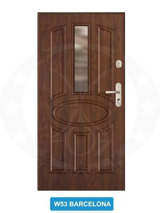 Двері вхідні металеві GERDA GWX W53 Barcelona