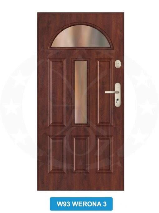 Двері вхідні металеві GERDA GWX W93 Werona 3
