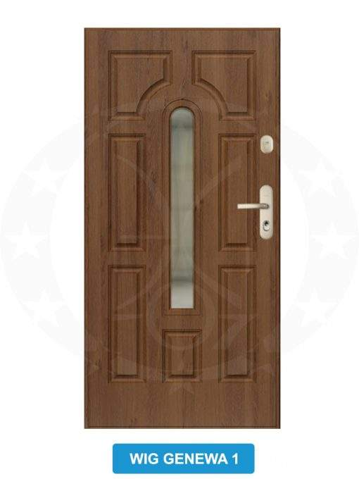 Двері вхідні металеві GERDA GWX WIG Genewa 1