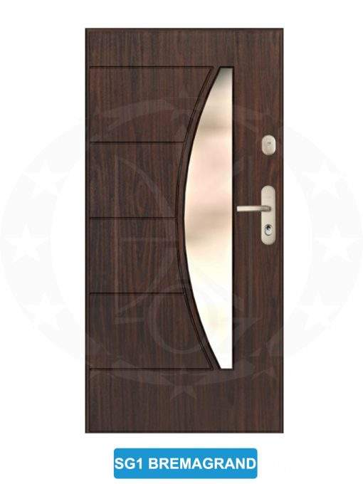 Двері вхідні металеві GERDA GWX SFG Brema Grande