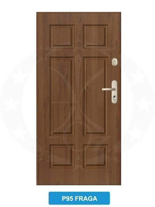 Двері вхідні металеві GERDA SX20 P95 Fraga