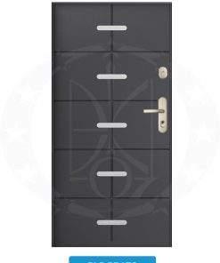 Двері вхідні металеві GERDA SX20 PLP Prato