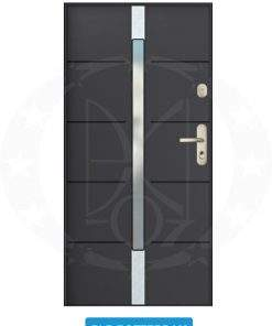 Двері вхідні металеві GERDA SX20 PLR Rotterdam