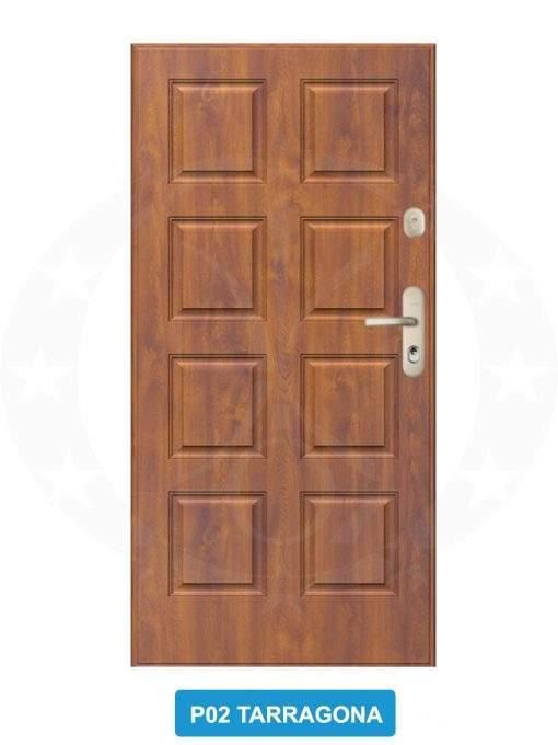 Двері вхідні металеві GERDA SX20 P02 Tarragona
