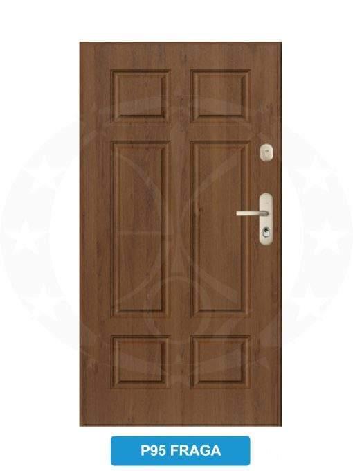 Двері вхідні металеві GERDA CX20 P95 Fraga