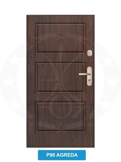 Двері вхідні металеві GERDA CX20 P96 Agreda