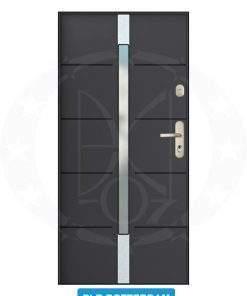 Двері вхідні металеві GERDA CX20 PLR Rotterdam