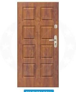 Двері вхідні металеві GERDA CX20 P02 Tarragona