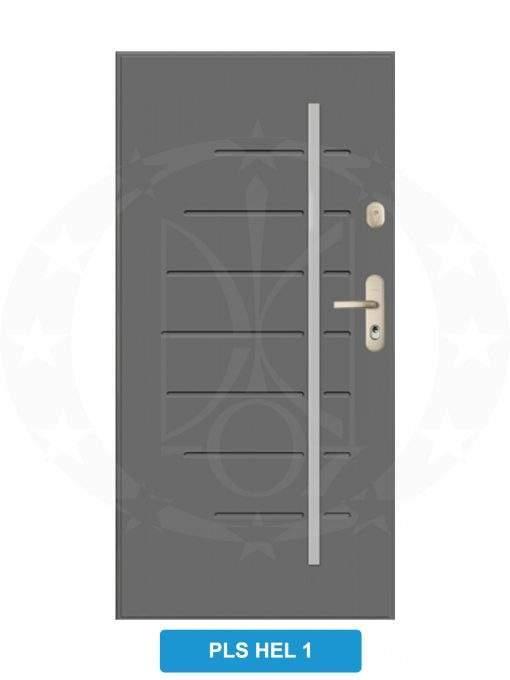 Двері вхідні металеві GERDA CX20 PLS HEL 1