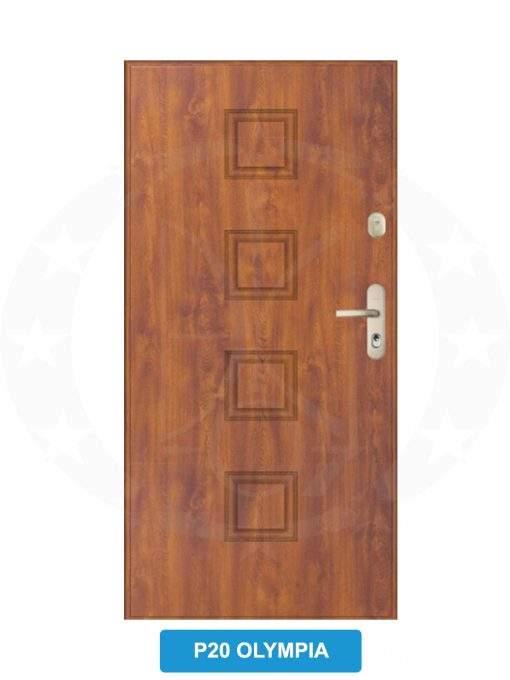 Двері вхідні металеві GERDA CX20 P20 olympia