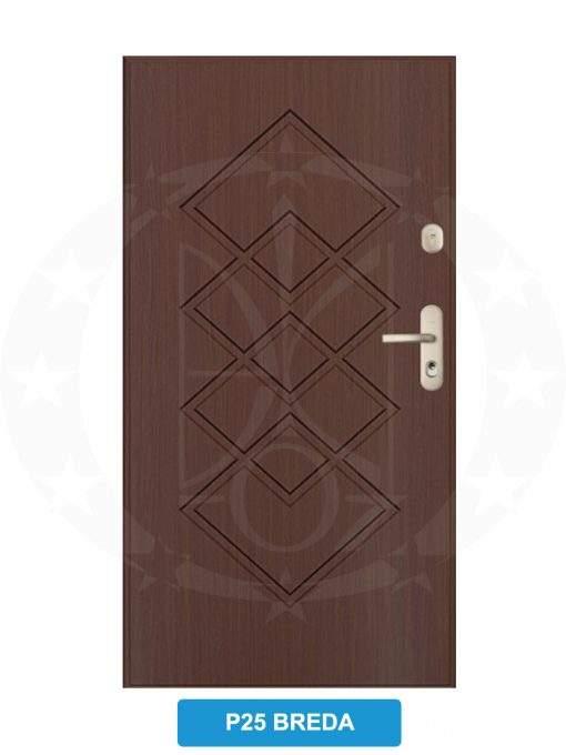 Двері вхідні металеві GERDA CX20 P25 Breda