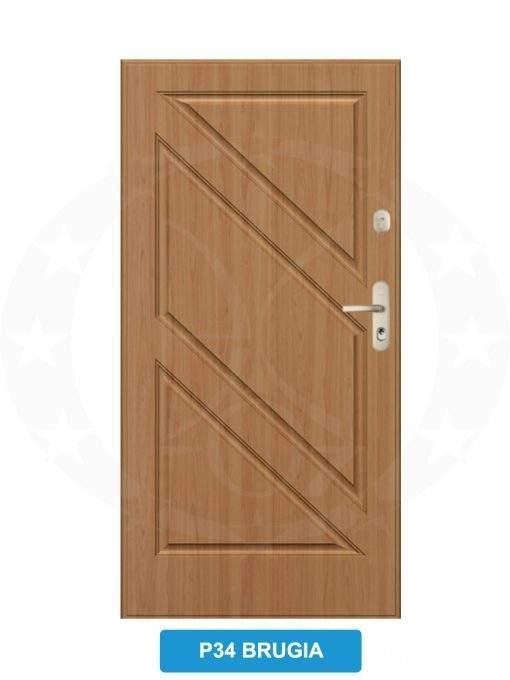 Двері вхідні металеві GERDA CX20 P34 Brugia