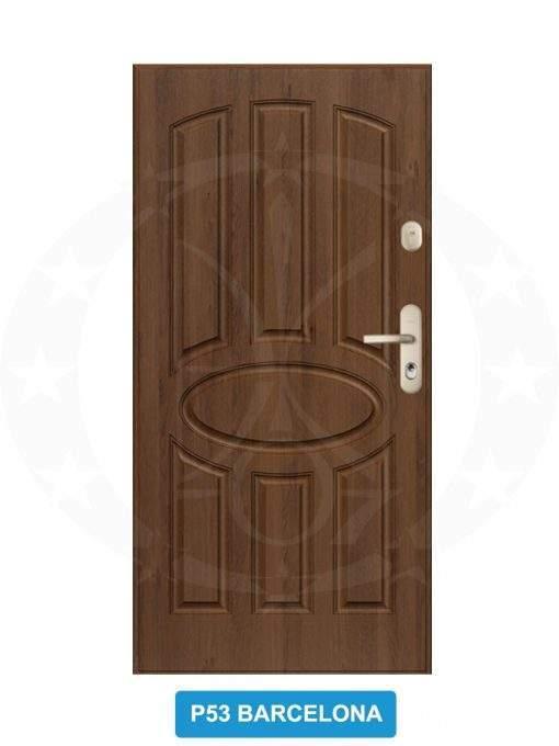 Двері вхідні металеві GERDA WX20 P53 Barcelona