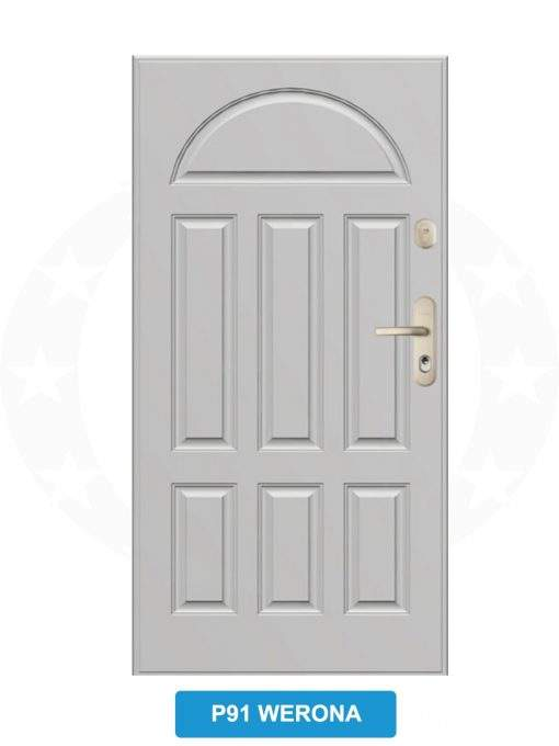 Двері вхідні металеві GERDA WX20 P91 Werona